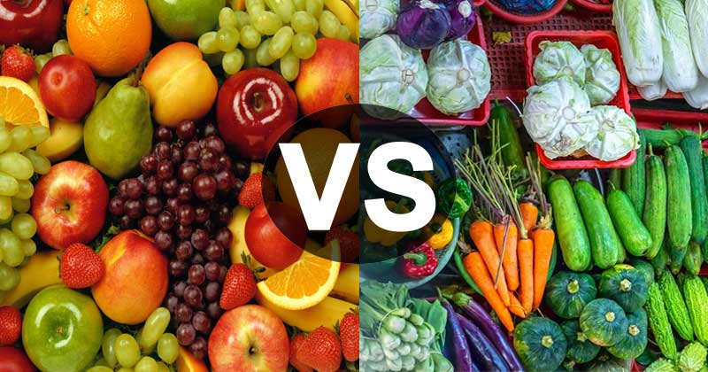 How are Fruits different from Vegetables