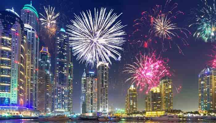 New year eve in dubai