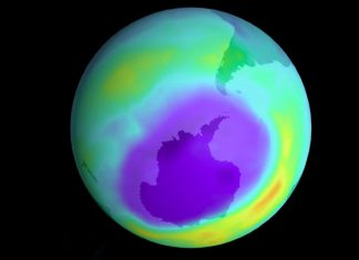 Ozone hole is closing