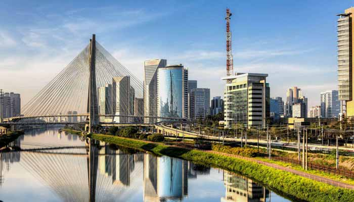 São Paulo, Brazil ten largest cities in the world by population
