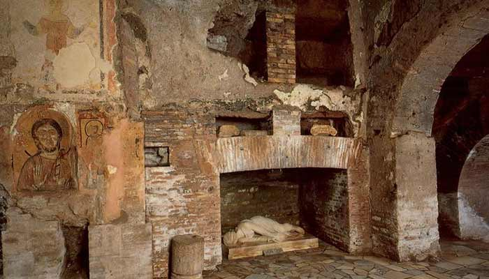 San Sebastian's catacombs Rome