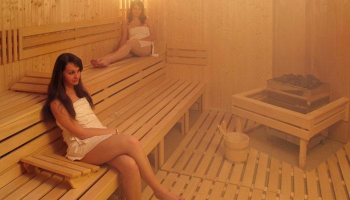 Sauna helps in fat burning