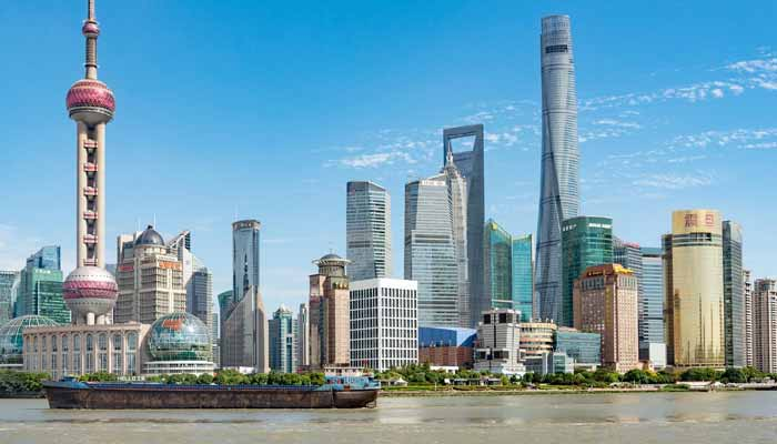 Shanghai, China ten largest cities in the world by population