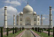 Taj mahal revenue
