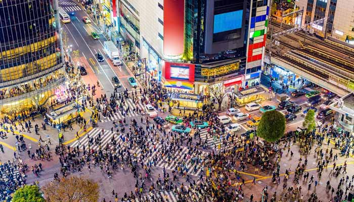 Tokyo, Japan ten largest cities in the world by population