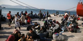 migrant arrival in Europe from Turkey