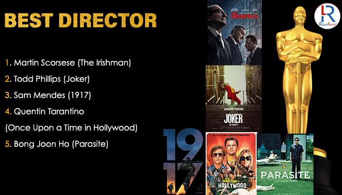 Best Directors Oscar 2020 Nominations
