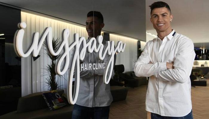 Cristiano Ronaldo hair clinic