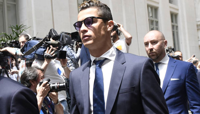Cristiano Ronaldo spared by court