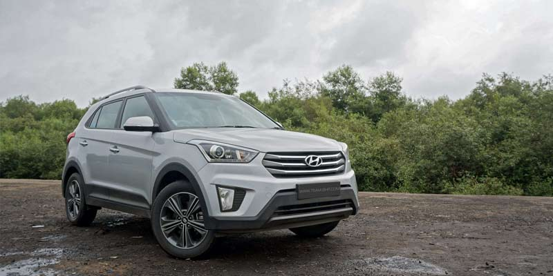 Hyundai Creta SUV Ex Showroom India