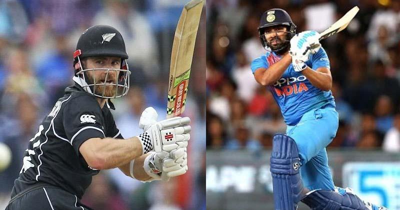 India vs NZ 3rd T20 2020 - Kane Williamson And Rohit Sharma