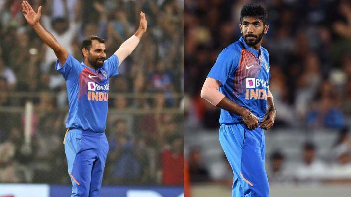 India vs New Zealand 3rd T20 - Bumrah and Shami