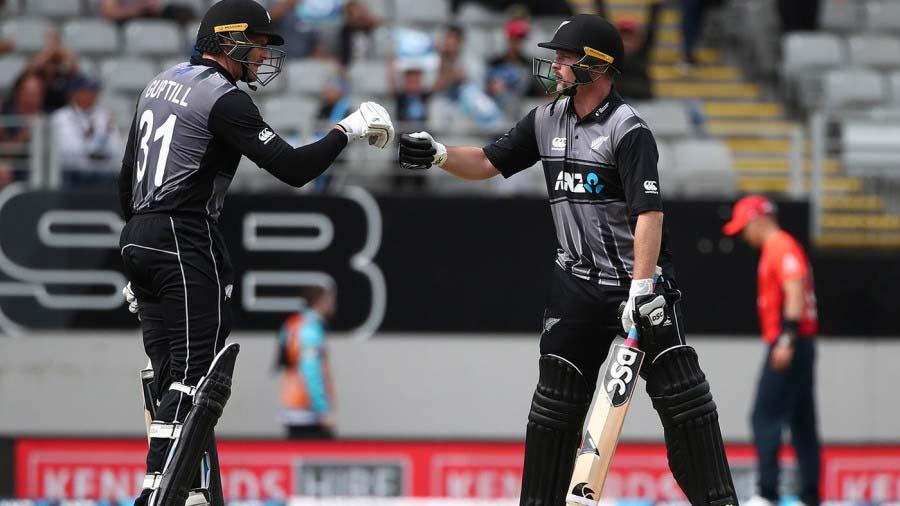 India vs New Zealand 3rd T20 - Martin Guptill and Colin Munro