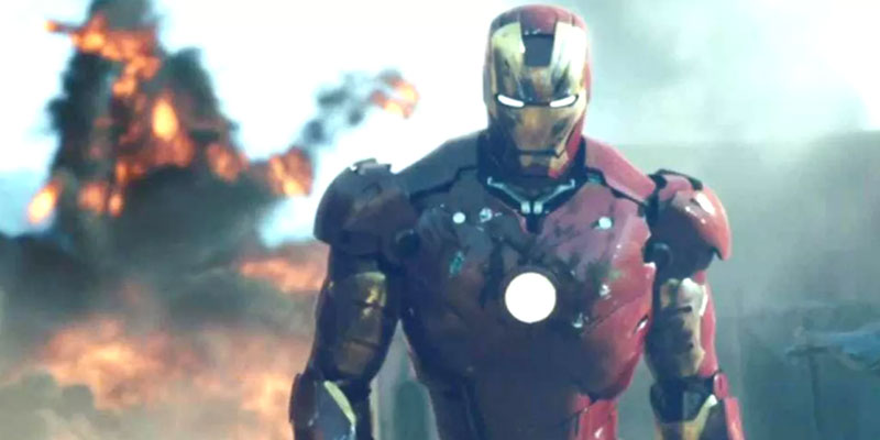 Ironman In a Still From Avengers