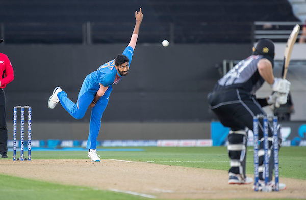 Jasprit Bumrah vs NZ T20I 2020