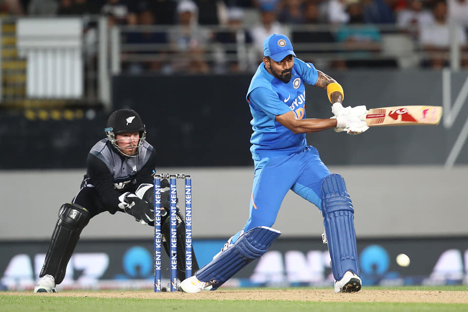 KL Rahul - India vs New Zealand second T20I