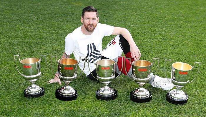 Messi football career