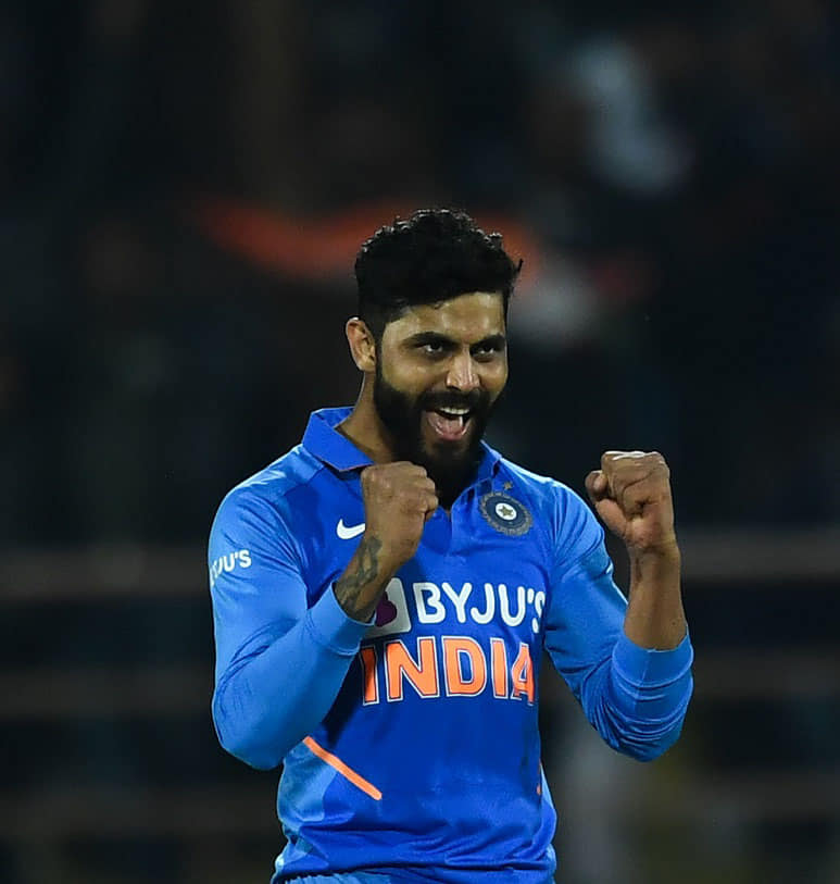 Ravindra Jadeja - India vs New Zealand second T20I