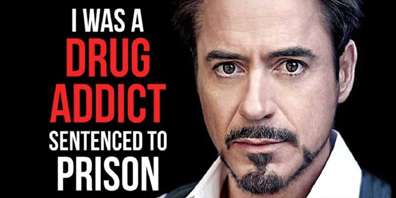 Robert Downey Jr Drug Addiction