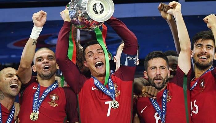 Ronaldo eoro championship 2016