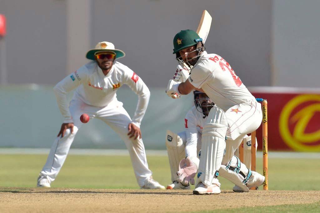 Sikandar Raza reaches his seventh Test half-century