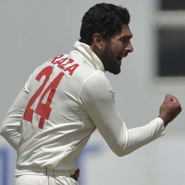 Sikandar Raza's best bowling in Tests
