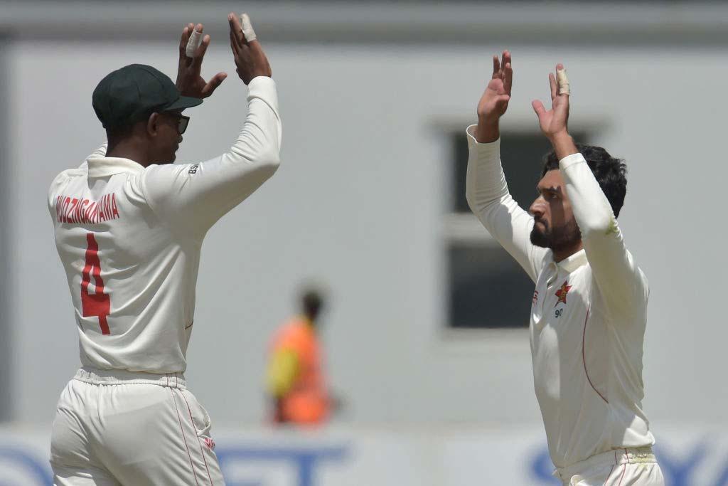 Sikander Raza took 7 Wickets against Sri Lanka