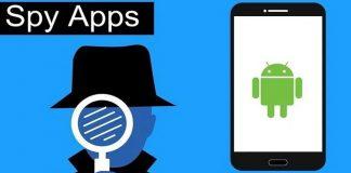 Spy apps in smartphones