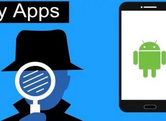 Spy apps in smartphones