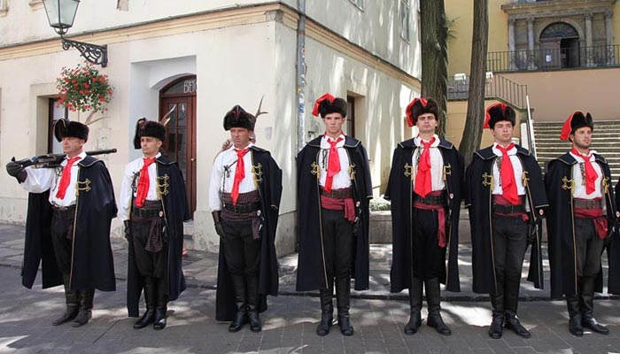 Tie facts- Croatian soldiers