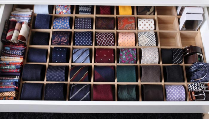 Tie facts- Tie storage