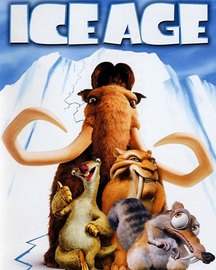 best animated films for Children- Ice Age
