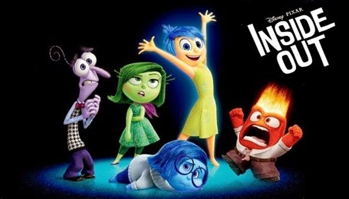 best animated films for Children- Inside out