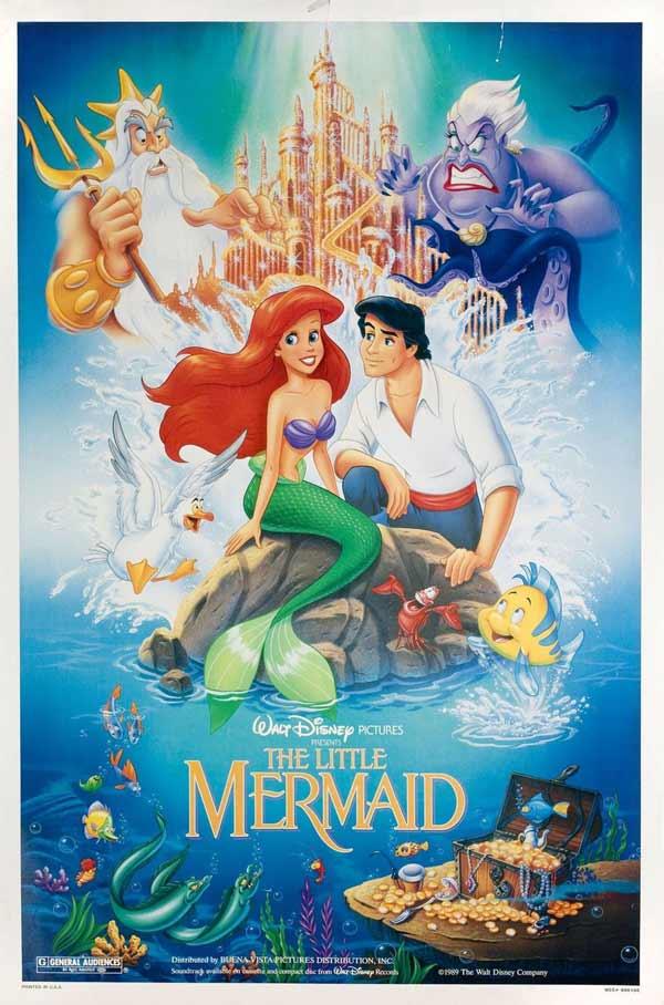best animated films for Children- Little Mermaid