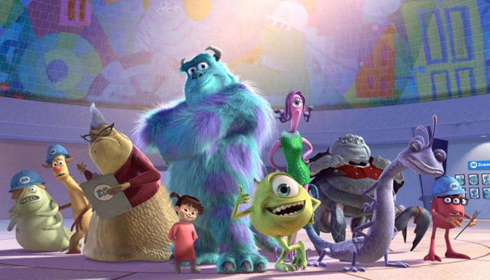 best animated films for Children- Monsters, Inc.