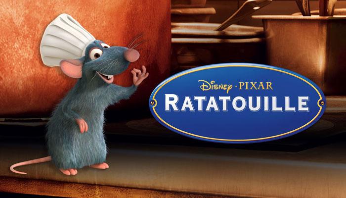 best animated films for Children- Ratatouille (USA 2007)