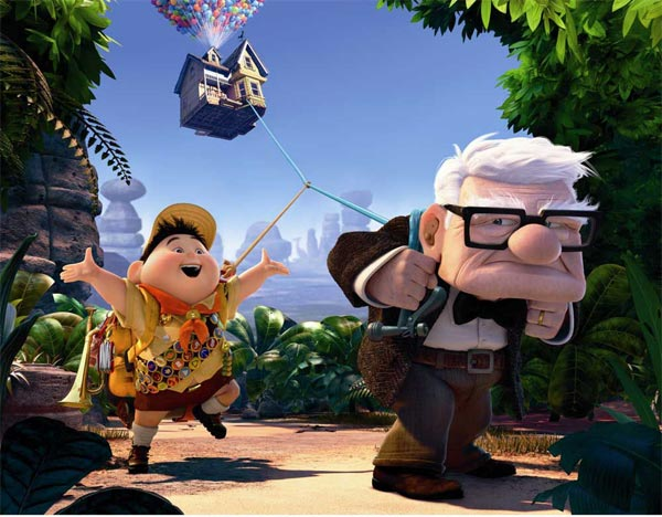 best animated films for Children- UP