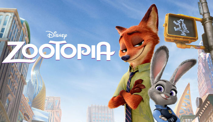 best animated films for Children- Zootopia