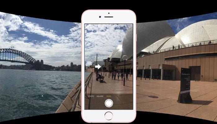 how to take Panorama shot