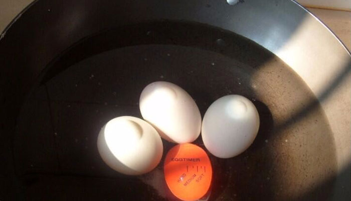 steps for boiling egg