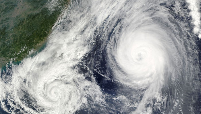 Cyclone formation