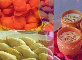 Holi Snacks