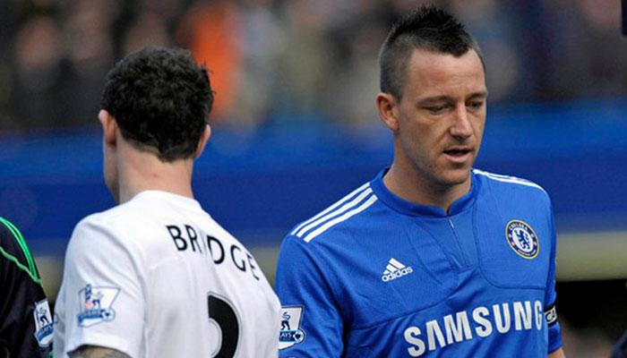 John Terry and Wayne Bridge- biggest football rivalries
