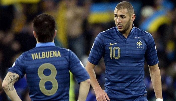 Karim Benzema and Mathieu Valbuena- Biggest Football Rivalries