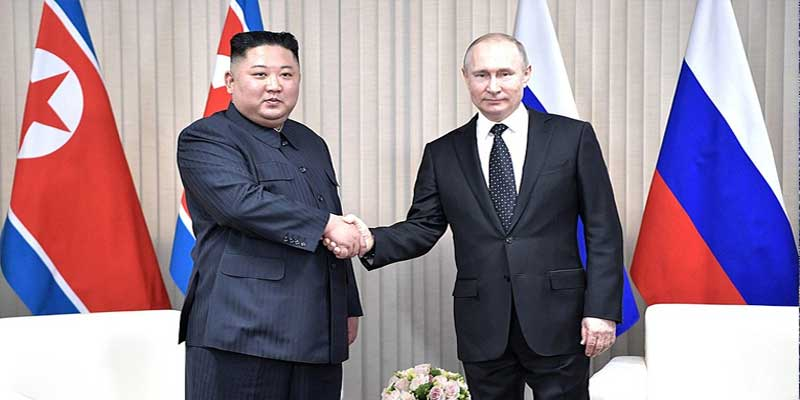 Kim Jong Un and Putin