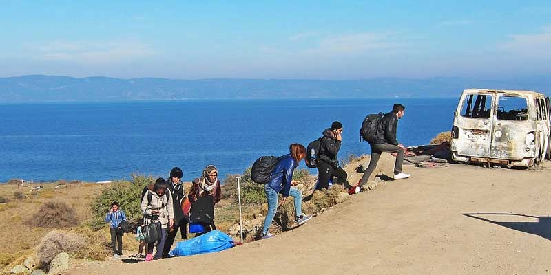 Migrants From Turkey Going to Europe