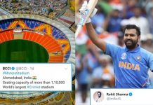 Rohit Sharma Expresses Uncontrollable Excitement To Play At The Motera Stadium