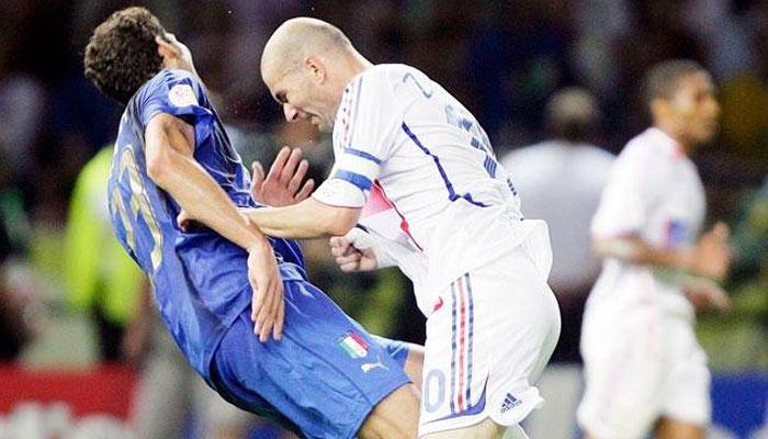 Zinedine Zidane and Marco Materazzi- Biggest Football Rivalries