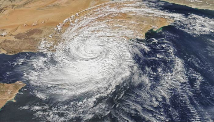 formation of cyclone