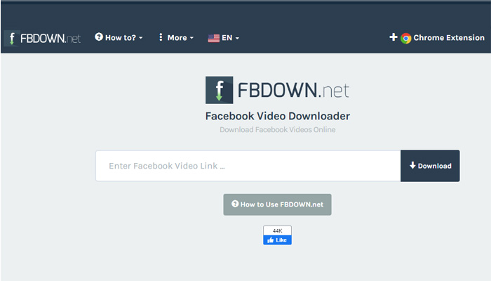 step 1 of How to download video from Facebook